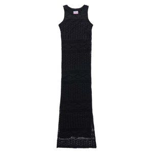 Superdry crochet knit maxi dress